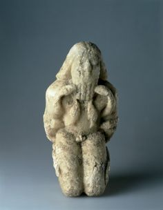 Kneeling Figure Bound with Serpents c.2600-2400 BC Iraq Sumerian Source: Cincinnati Art Museum