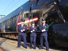 Que o hype esteja com você: Japão inaugura trem temático de Star Wars