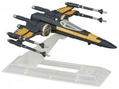 Blackser Die Cast - Poes X-Wing Fighter - Star Wars - Hasbro