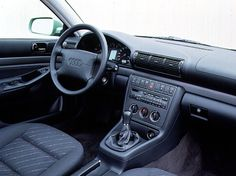 Audi A4 interior.