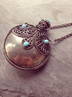 Vintage Perfume Necklace
