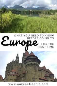 Are you a Canadian or an American traveller going to Europe for the first time? Get ready for a major European culture shock. Read on to discover main differences between the North American and European cultures so you know what to expect. Travel Couple, Family Travel, Continental Europe, Travel Advice, Travel Tips, Budget Travel, Travel Quotes, Travel Ideas, Europe Travel Guide