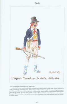 Spain: Plate 9. Squadron of Valls, Private, 1808-1814