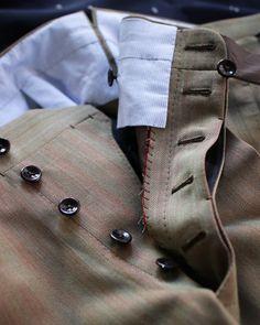 Solaro  #bespoke #solaro #suit #details #menwear #menstyle #menfashion #vicktailor #handmade #tokyo