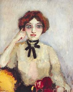 Kees van Dongen was a Dutch painter and one of the Fauves. He gained a reputation for his sensuous, at times garish, portraits.