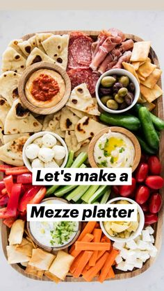 Charcuterie Recipes, Charcuterie Platter, Charcuterie And Cheese Board, Charcuterie For Dinner, Antipasti Board, Cheese Boards, Antipasto, Yummy Appetizers, Appetizers For Party