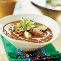 Jacques Pépin's best friend, Jean-Claude Szurdak, came up with this version of a favorite local dish. The soup can be made with anchos or even gua...