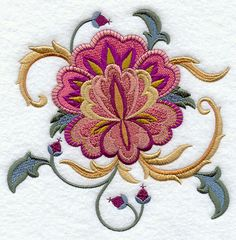 Machine Embroidery Designs at Embroidery Library! - Color Change - E3676