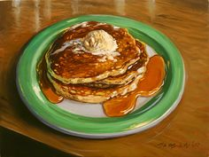Perkins Pancakes by Mick McGinty
