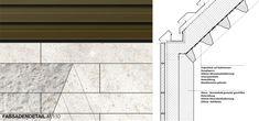 ein 2. Preis: Fassadendetail Town Hall, Architecture