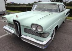 Review 7 Different Models within the Edsel Car Line: Ice Green 1958 Edsel Ranger Ford Paint Code M0688