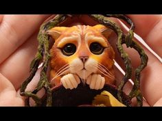❤1❤ Polymer Clay Puss in boots inspired by Dreamworks ❤reupload❤ - YouTube