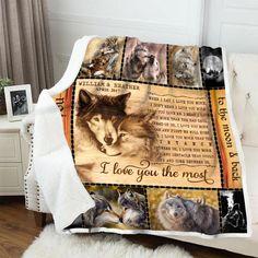 Ferret When It/'s Too Hard To Look Back Look Beside You Fleece Blanket 50x60x80