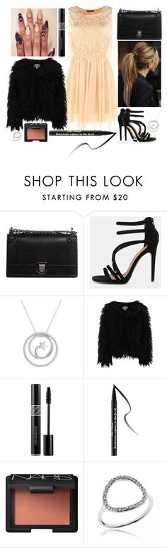 """""""Circle jewelry"""" by staceybuijs ❤ liked on Polyvore featuring Christian Dior, Amanda Rose Collection, Derhy, Dry Lake, Too Faced Cosmetics and NARS Cosmetics"""
