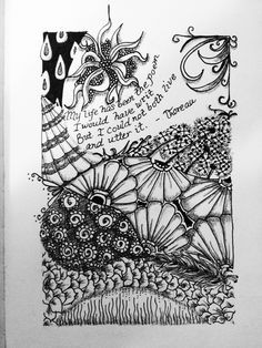 Poetry Zentangle