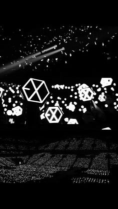 We are one exo Baekhyun, Lightstick Exo, Kpop Exo, Exo Kai, Taemin, K Pop, L Wallpaper, Exo Silver Ocean Wallpaper, Download Wallpaper Hd