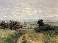 Claude Monet, The Plain of Sannois at Argenteuil on ArtStack #claude-monet #art