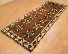 Loribaft handgeknüpft Läufer Orientteppich 297 x 105 cm carpet perser