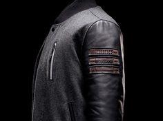 #Nike Sportwear - Black History Month '12  Leather jacket  #2dayslook #fashion #nice #leatherjacket  www.2dayslook.com