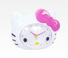 Hello Kitty Alarm Clock: Spring Flowers