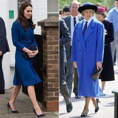 Duchess Kate looks like Princess Diana in this blue coat - TODAY.com