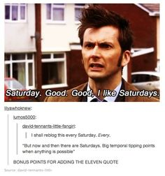 Saturdays are good days for fans of DW