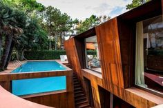 The Lanfranco Pollini 'Villa al Mare' is Geometric trendhunter.com