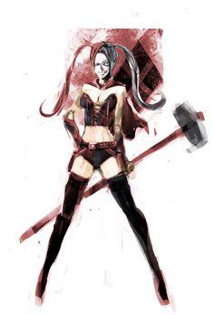 Harley Quinn by naratani