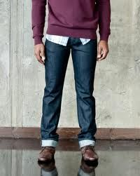 Fold your Joe's Jeans for a cool Fall look.