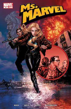 "Ms. Marvel #33 ""Secret Agent Danvers, Part 2: Vitamin"" (January, 2009)"
