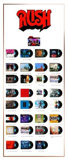 Album Art Icons: Rush