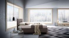 #homedecor #interiordesign #inspiration #decoration #decor #design Nordic Style, King Beds, Space Saving, Curtains, Interior Design, Geometry, Modern, Touch, Inspiration