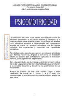 Fichero De Juegos De Psicomotricidad Peru, Feather Tattoos, Childhood Games, Psicologia, Turkey