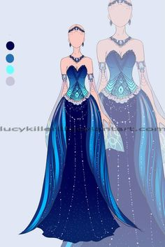 70 trendy drawing ideas mermaid deviantart Source by idea drawing Anime Outfits, Dress Outfits, Cool Outfits, Fashion Outfits, Fashion Design Drawings, Fashion Sketches, Pretty Dresses, Beautiful Dresses, Vetements Shoes