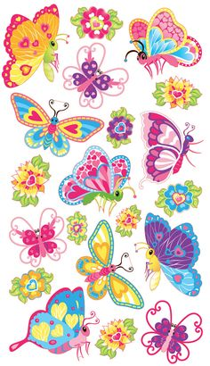 Sticko Classic Stickers - Magical Butterflies