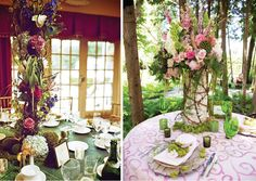 whimsical centerpiece - Google Search