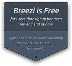 Breezi - Website builder for Designers