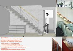 Treppe Variante 1 Stairs, Home Decor, Stairway, Architecture, Timber Wood, Projects, Decoration Home, Room Decor, Staircases