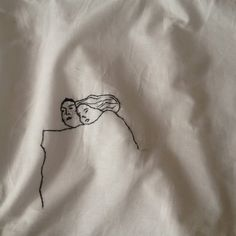 "Detail. Pillowcase ""Les imaginaires Amours"" @Serdeczności/Paulinka Puchalska"