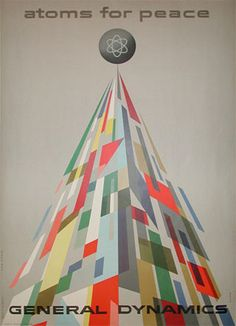 Atoms for peace - illustration by Erik Nitsche