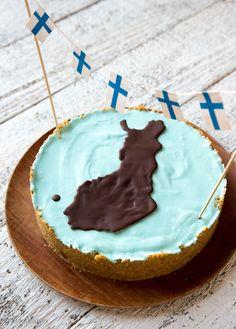 Vaahtokarkkikakku by Kinuskikissa, sweet! Marshmallow cake by Kinuskikissa, sweet!