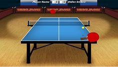Torneo de Tenis de Mesa - Divertido juego de ping pong en 3D trata de vencer el torneo y salir campeon. Elige tu pais y juega contra jugadores reales!