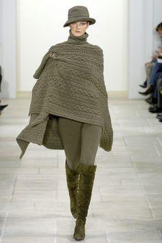 Ralph Lauren коллекция | Коллекции осень-зима 2006/2007 | Нью-Йорк | VOGUE