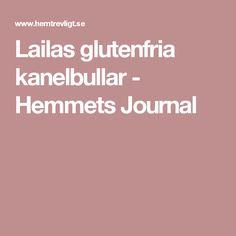 Lailas glutenfria kanelbullar - Hemmets Journal