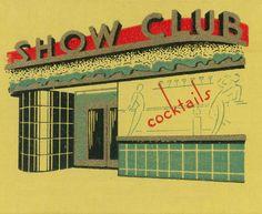 Nightclub exterior.