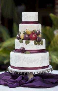 By Erica OBrien Cake Design (Wedding CakesCT-NY-MA)