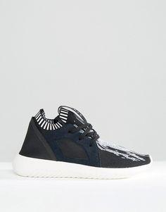 Adidas | Черные кроссовки с принтом adidas Originals Primeknit Tubular