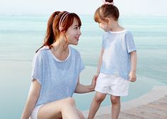 """Today's Hot Pick :Two Tone Mesh Cover Up http://fashionstylep.com/SFSELFAA0001181/funnylove09en/out Providing you with the best in coordinated family clothing, or """"Family Look"""" straight from the heart of fashion - Seoul, Korea! All our products are made from high quality materials and made with your family in mind. If you have questions about specific sizing, please feel free to contact us!"""