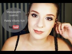 Maquiagem usando Paleta Vult Villains Cruella (Tutorial) - YouTube