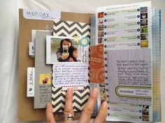 A great example of how to add in everyday items to an Anything Book. This example comes from Amy Tangerine. #anythingbook